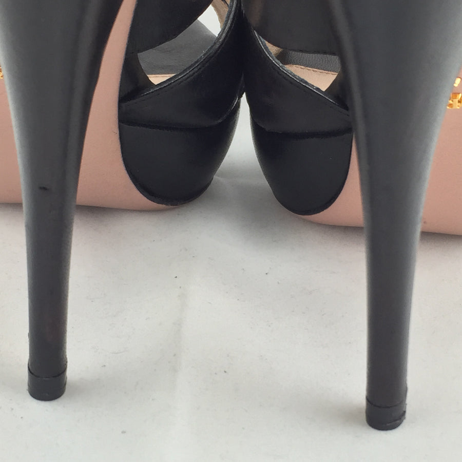 Black Prada Pumps! - New York Authentic Designer - Prada