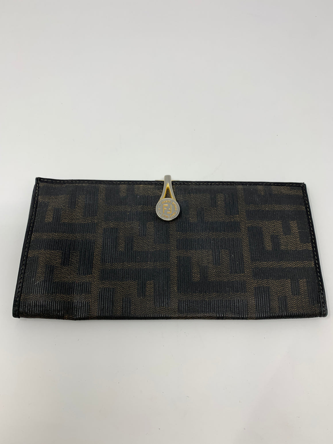 Fendi Checkbook Wallet! - New York Authentic Designer - Fendi
