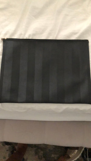 Fendi Black Clutch! - New York Authentic Designer - Fendi