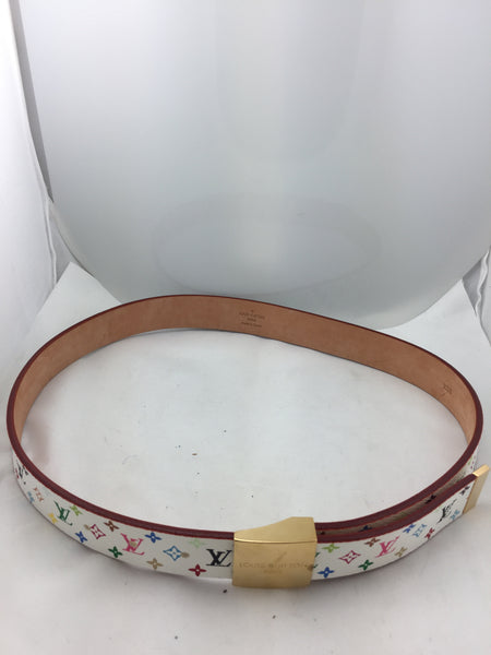 Louis Vuitton Multi-Colored LV Print Belt - New Neu Glamour