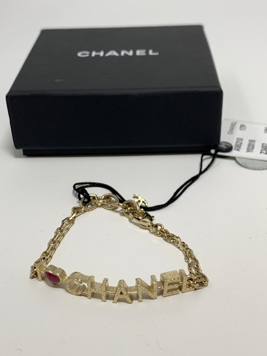 Chanel Heart Bracelet - New York Authentic Designer - Chanel