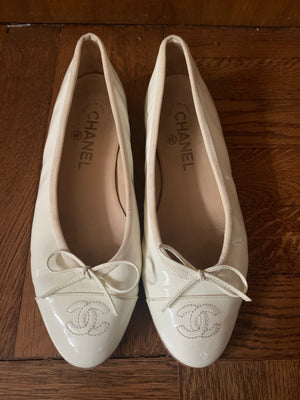 Chanel Flats - New York Authentic Designer - New Neu Glamour | Preloved Designer Fashion