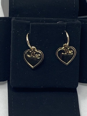 Chanel Hearts Earrings! - New York Authentic Designer - Chanel