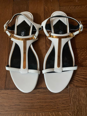 Tom Ford Sandals - New York Authentic Designer - New Neu Glamour | Preloved Designer Fashion