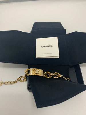 Chanel Dore/Crist Bijoux Fantasie Bracelet! - New York Authentic Designer - Chanel