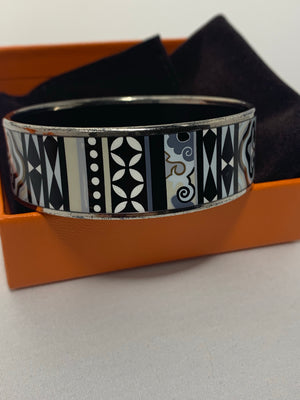 Hermès Le Bijou Email Imprime Bangle! - New York Authentic Designer - Hermès