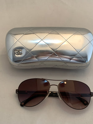Chanel Aviator Sunglasses! - New York Authentic Designer - Chanel