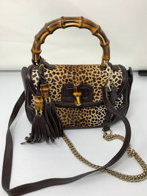 Gucci Bamboo and Pony Hair Bag!