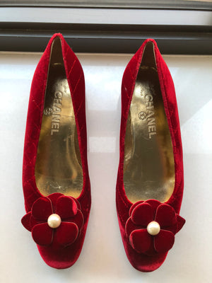 Vintage Chanel Shoes! - New York Authentic Designer - Chanel