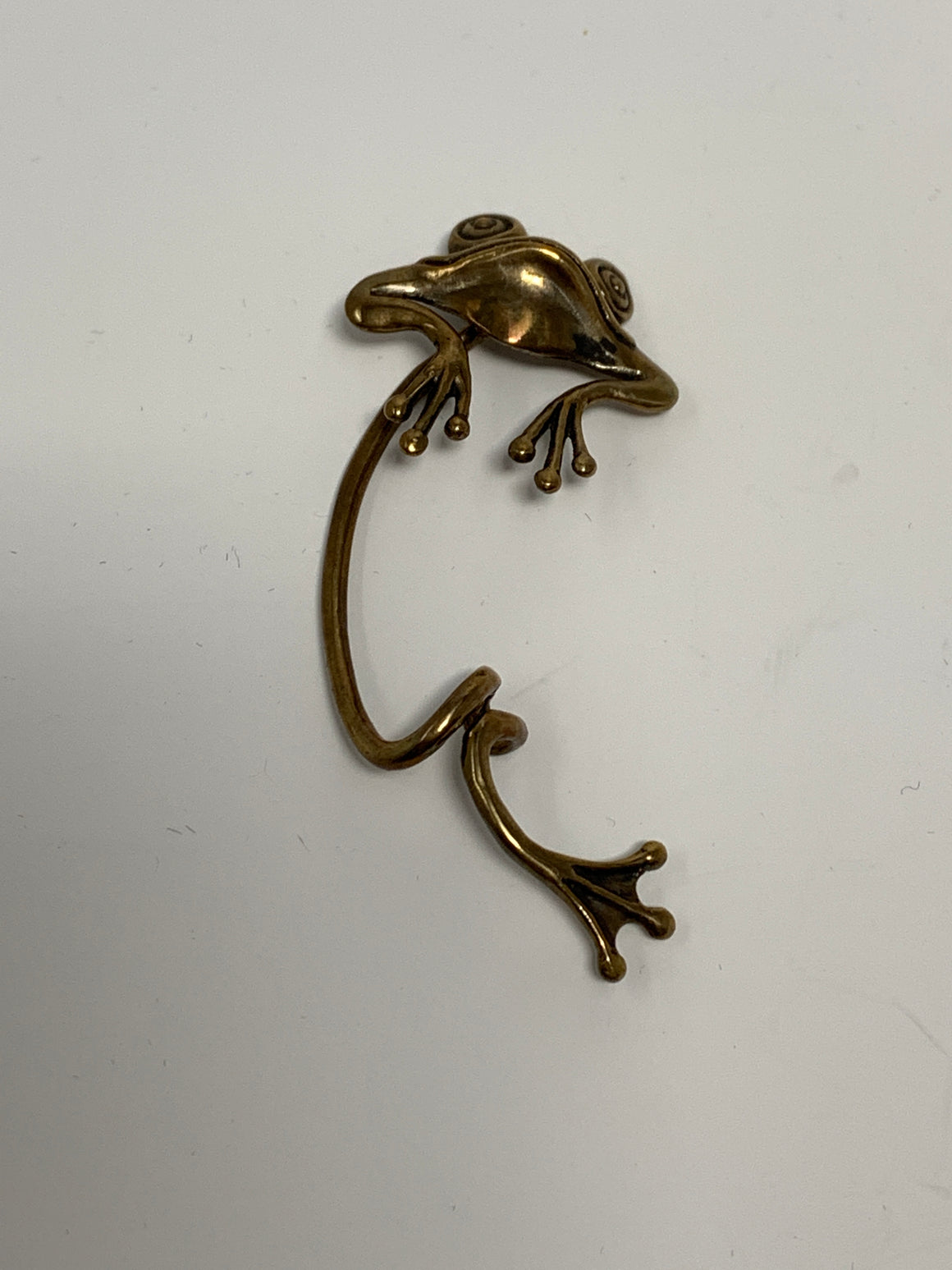 Frog Ear Clip! - New York Authentic Designer - N/A