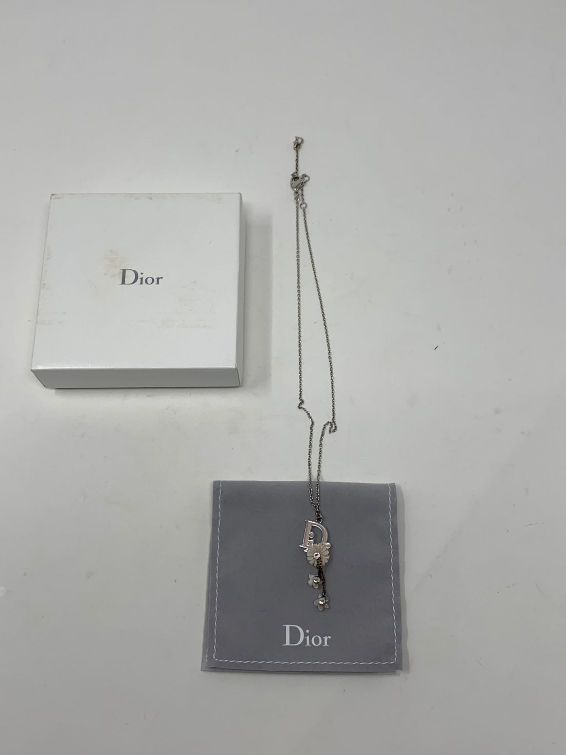 Dior Pink Flowers Necklace!