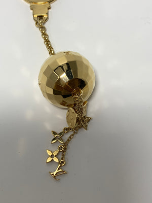 Louis Vuitton Ball and Tassel Bag Charm/Key Fob - New York Authentic Designer - Louis Vuitton