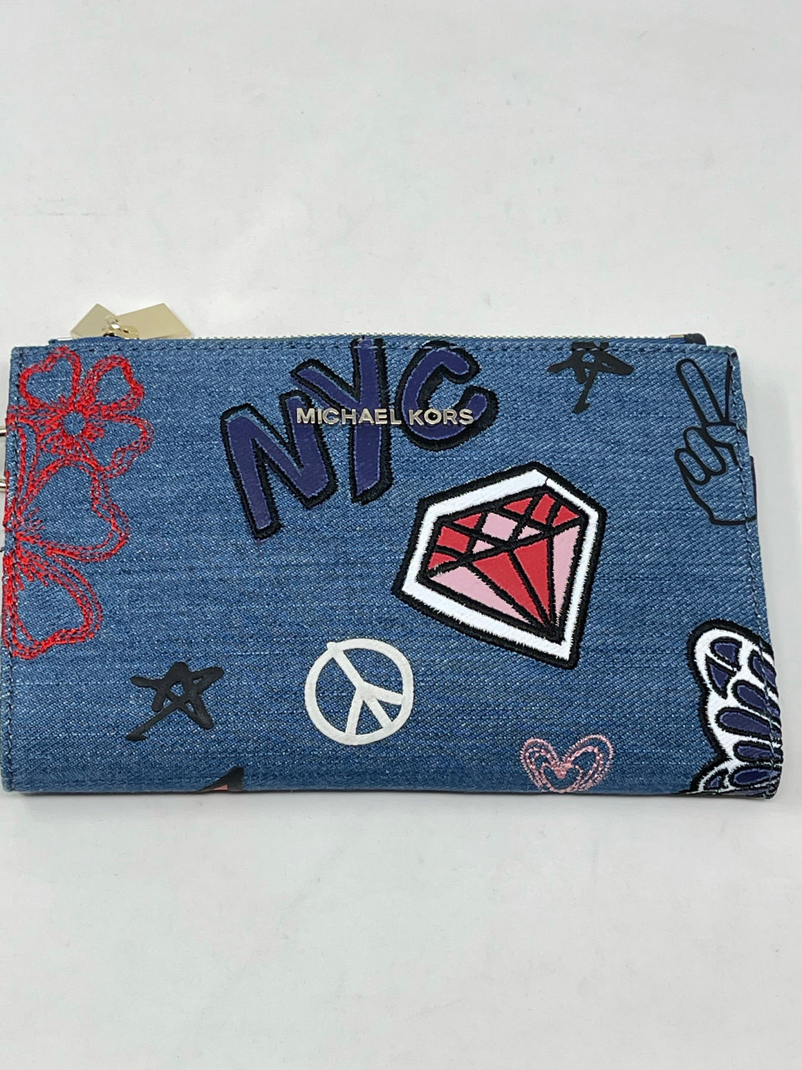 Michael Kors Denim Wallet!