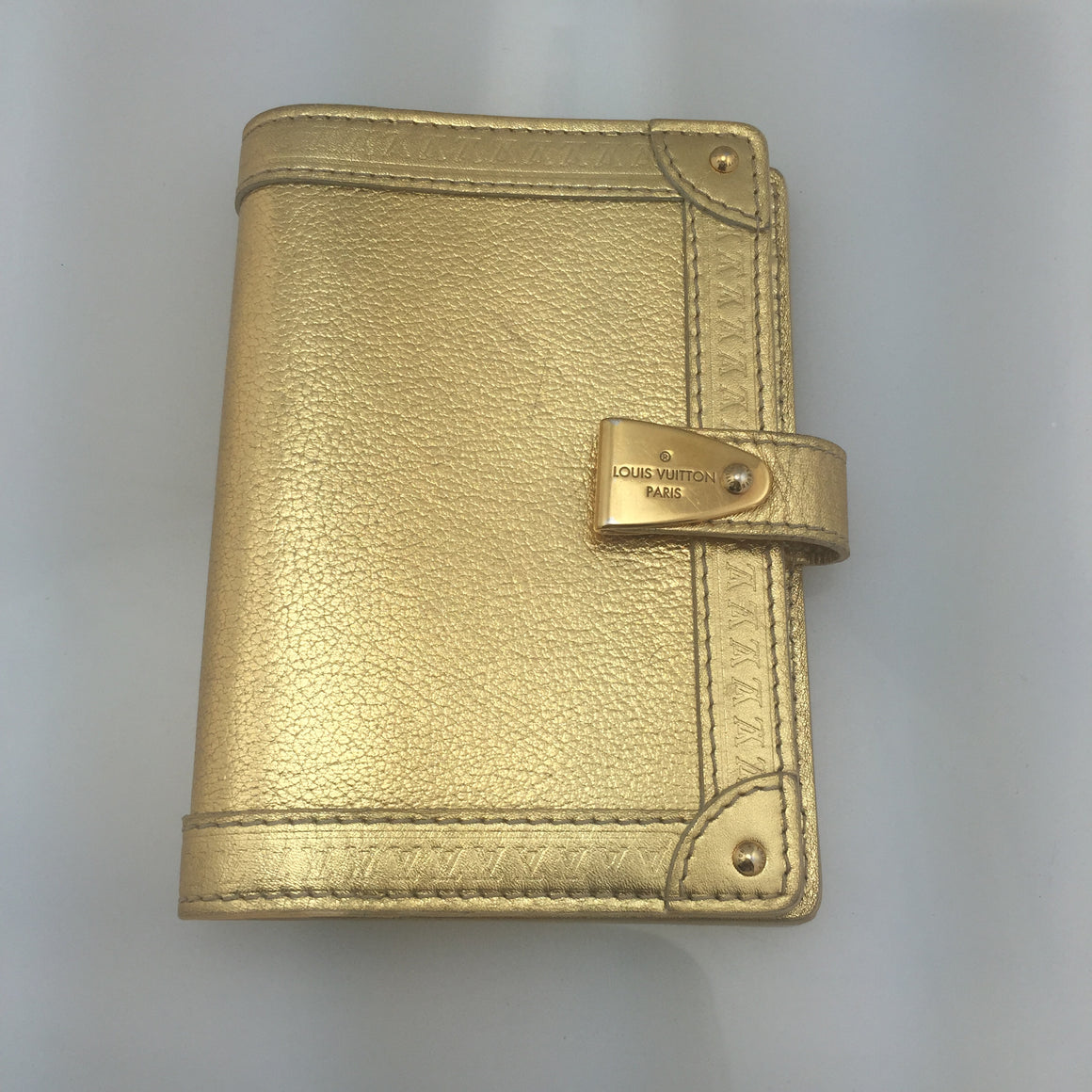 Louis Vuitton Suhali Leather Agenda Book! - New York Authentic Designer - Louis Vuitton
