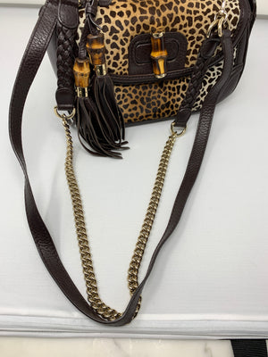 Gucci Bamboo and Pony Hair Bag! - New York Authentic Designer - Gucci
