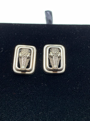 Kieselstein Cord Alligator Clip On Earrings - New York Authentic Designer - Kieselstein-Cord