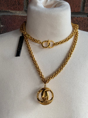 Chanel CC Orb Necklace! - New York Authentic Designer - Chanel