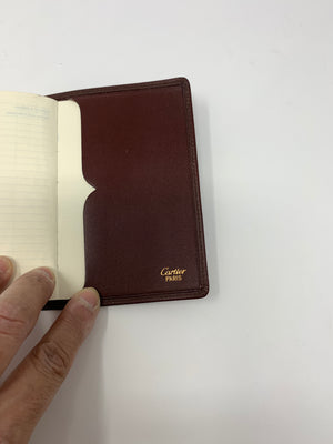 Cartier Address Book Cover and Books! - New York Authentic Designer - Cartier