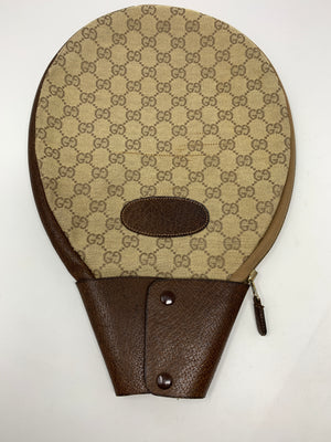 Gucci GG Supreme Tennis Racquet Cover!