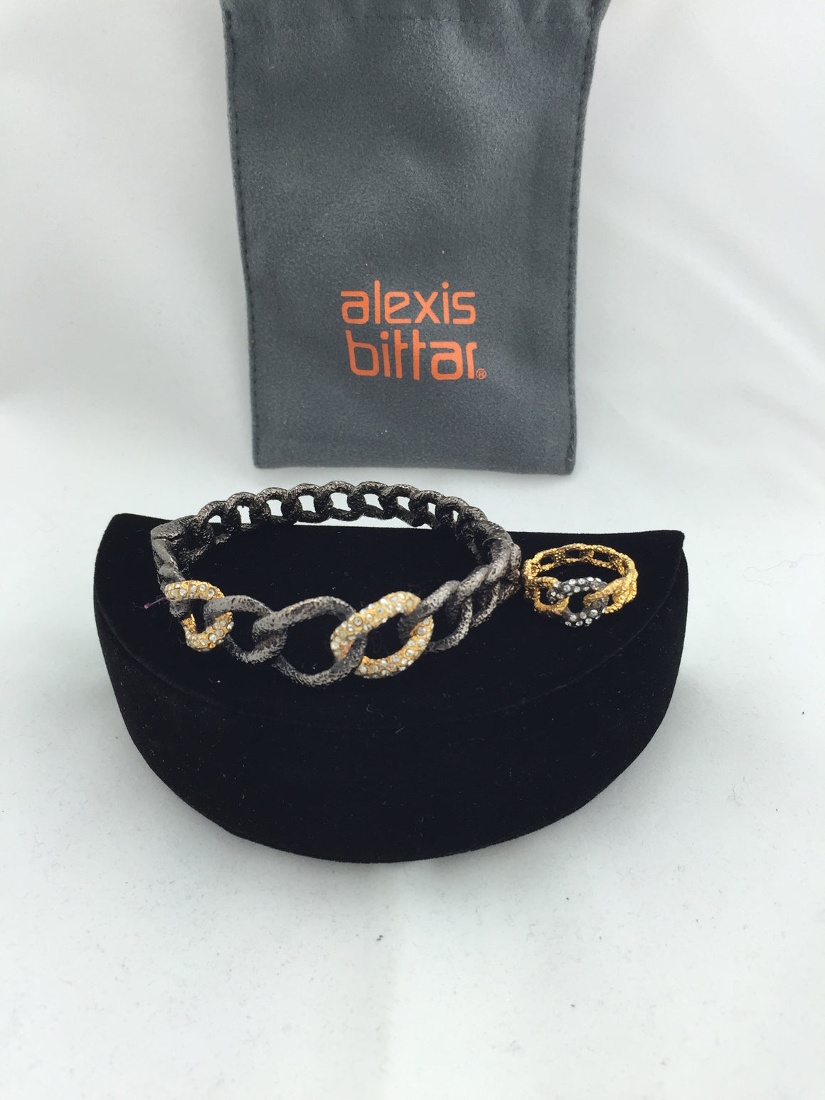 Alexis Bittar Bracelet and Ring Set! - New York Authentic Designer - Alexis Bittar
