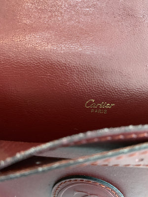 Vintage Cartier Crossbody Flap Bag - New York Authentic Designer - Cartier