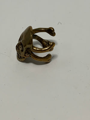Skull Ear Clip! - New York Authentic Designer - N/A