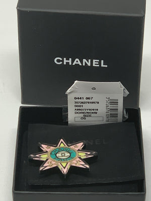 Chanel Pink Star Brooch! - New York Authentic Designer - Chanel