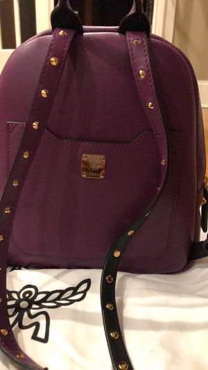 MCM Mystic Purple Backpack! - New York Authentic Designer - MCM