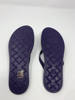 Louis Vuitton Leather Flip Flops! - New York Authentic Designer - New Neu Glamour | Preloved Designer Fashion