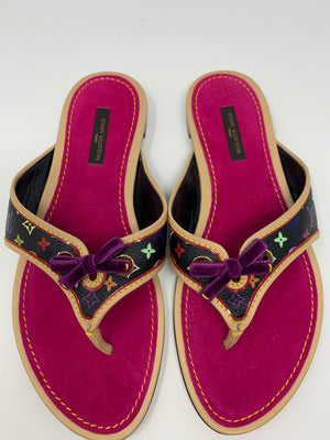 Louis Vuitton Thong Sandals! - New York Authentic Designer - Louis Vuitton
