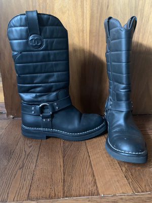 Chanel Mid-Calf boots - New York Authentic Designer - New Neu Glamour | Preloved Designer Fashion