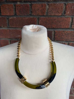 Marni Green and Gold Necklace! - New York Authentic Designer - Marni