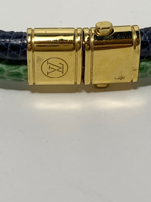 Louis Vuitton Snake Skin Bracelet - New York Authentic Designer - Louis Vuitton