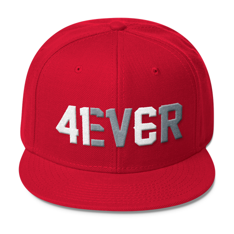4EVER Snapback - Classic Canadian Red