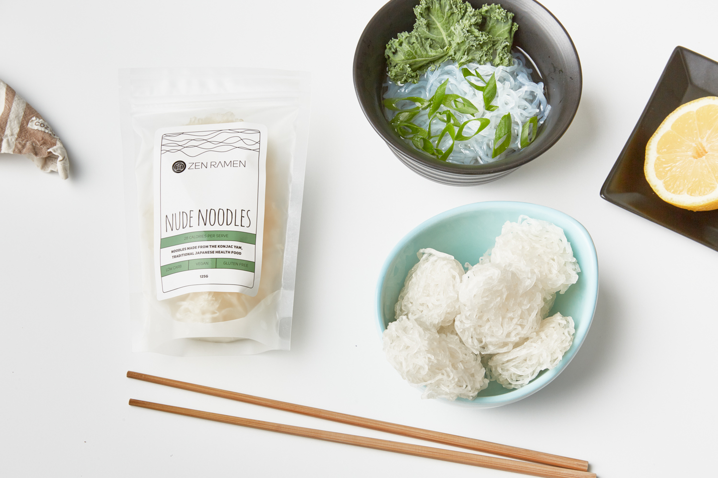 WHAT ARE ZEN RAMEN NUDE NOODLES?