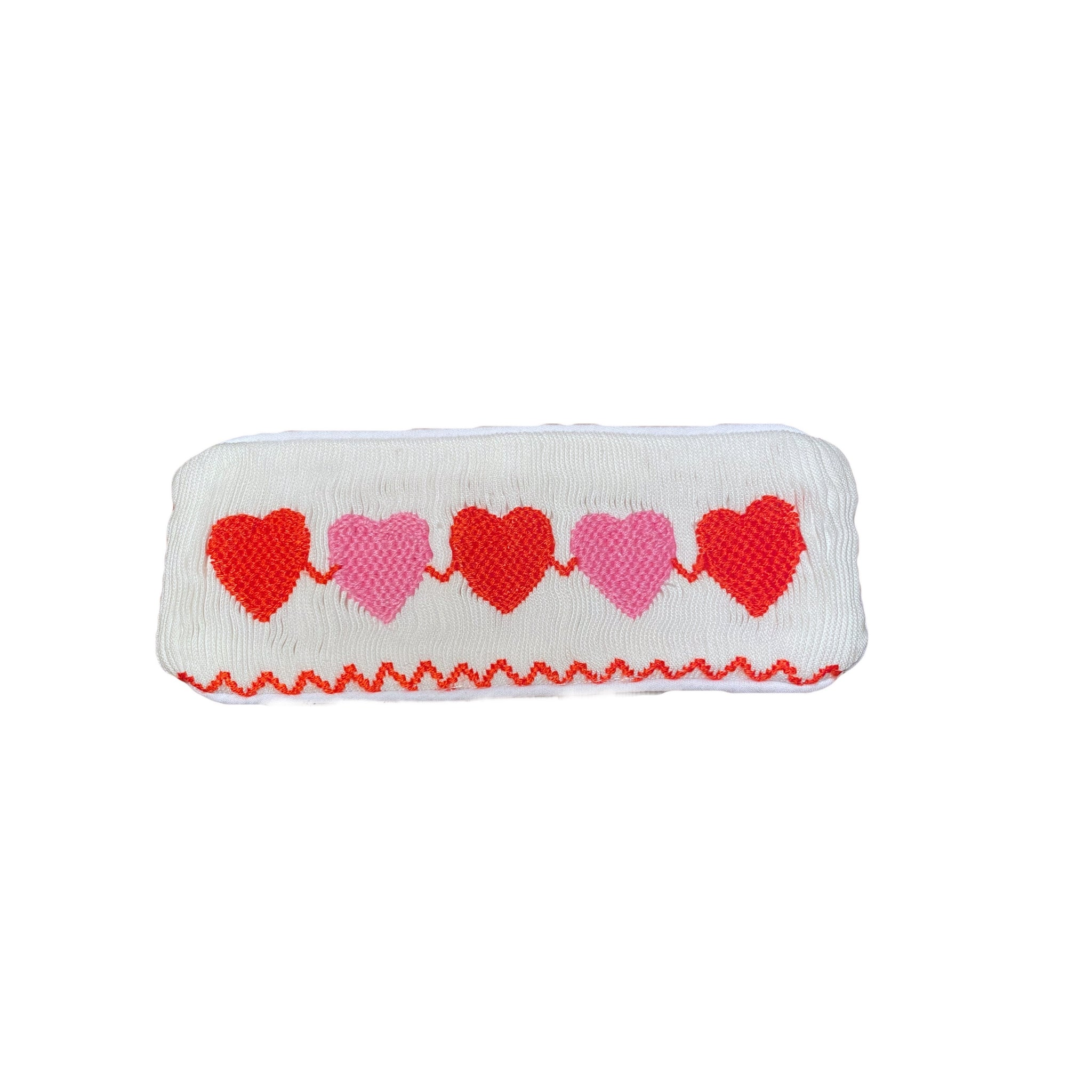 Valentines Pink and Red Heart Tab