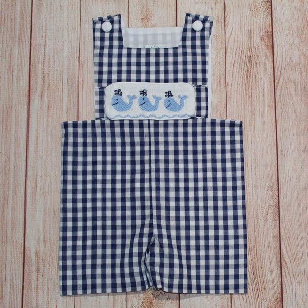 Swap-A-Smock Blue Whale Tab