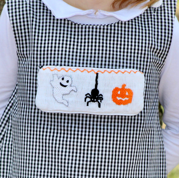 Swap-A-Smock Halloween Spider Tab