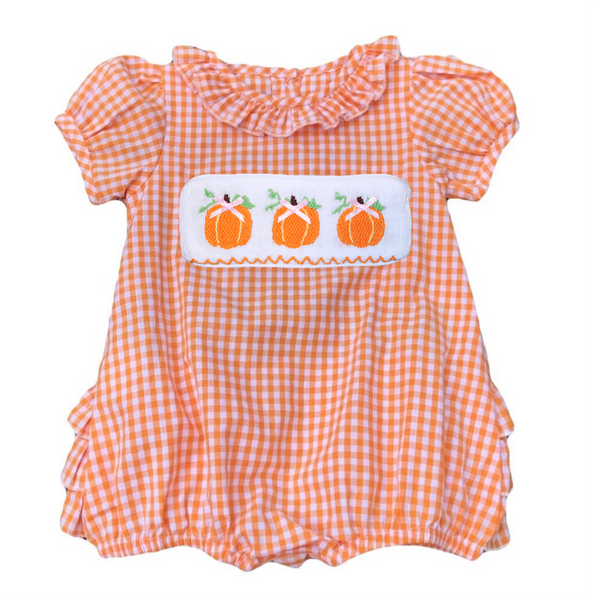 Swap-A-Smock Pumpkin with Bow Tab