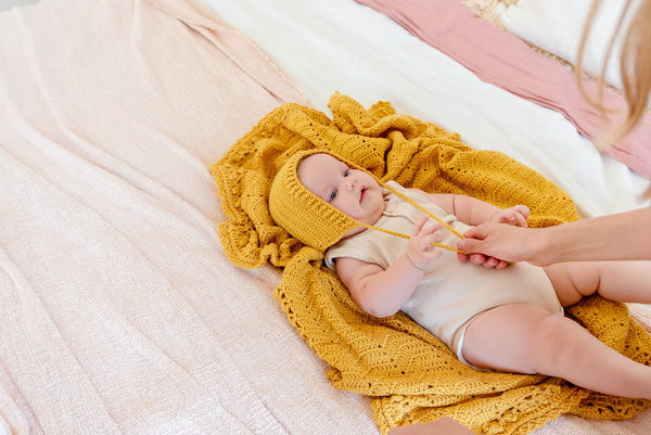 How to Find the Safe Crochet Blanket for Your Infant
