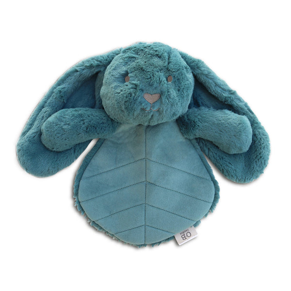 bunny lovey toy | Ethically made | plush soft toys for babies USA | Blue