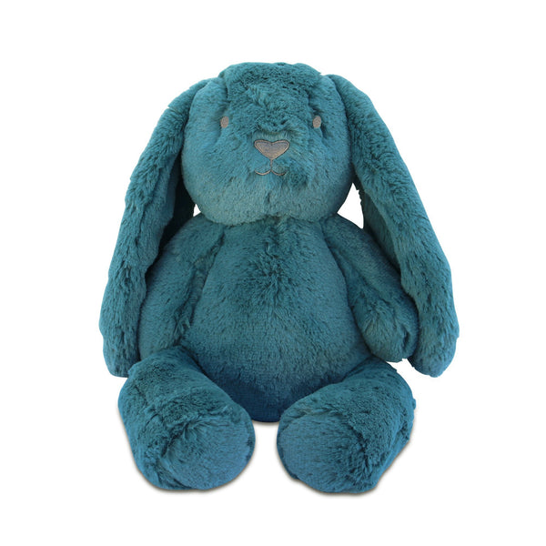 bunny soft toys | rabbit plush toy | ethically made USA OB Designs | Blue