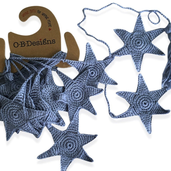 Blue Starfish Bunting