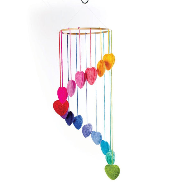 Falling In Love Mobile / Rainbow - O.B.Designs USA