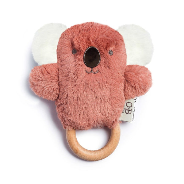 Wooden Teether | Baby Teether | Kate Koala