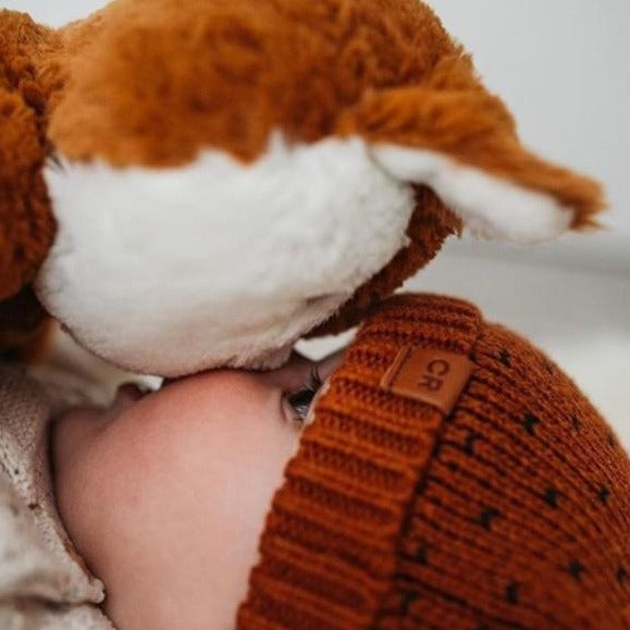 Soft Toy | Plush Toys |  Autumn Leaf Fox -  Frankie Fox Huggie