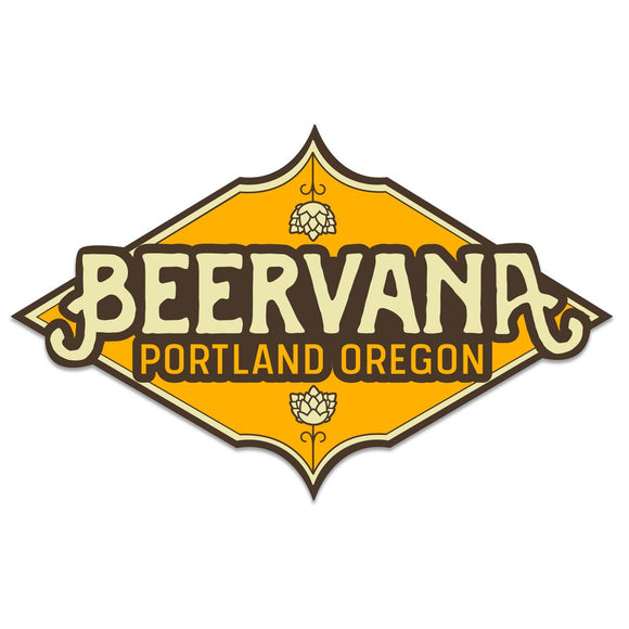Beervana Portland Sticker
