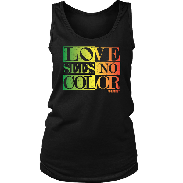 LOVE SEES NO COLOR RAINBOW