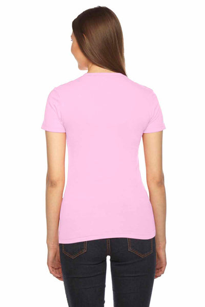 American Apparel 2102 Pink  Back