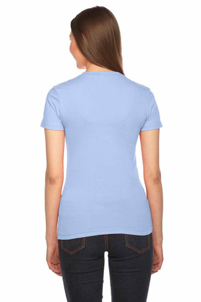 American Apparel 2102 Baby Blue  Back